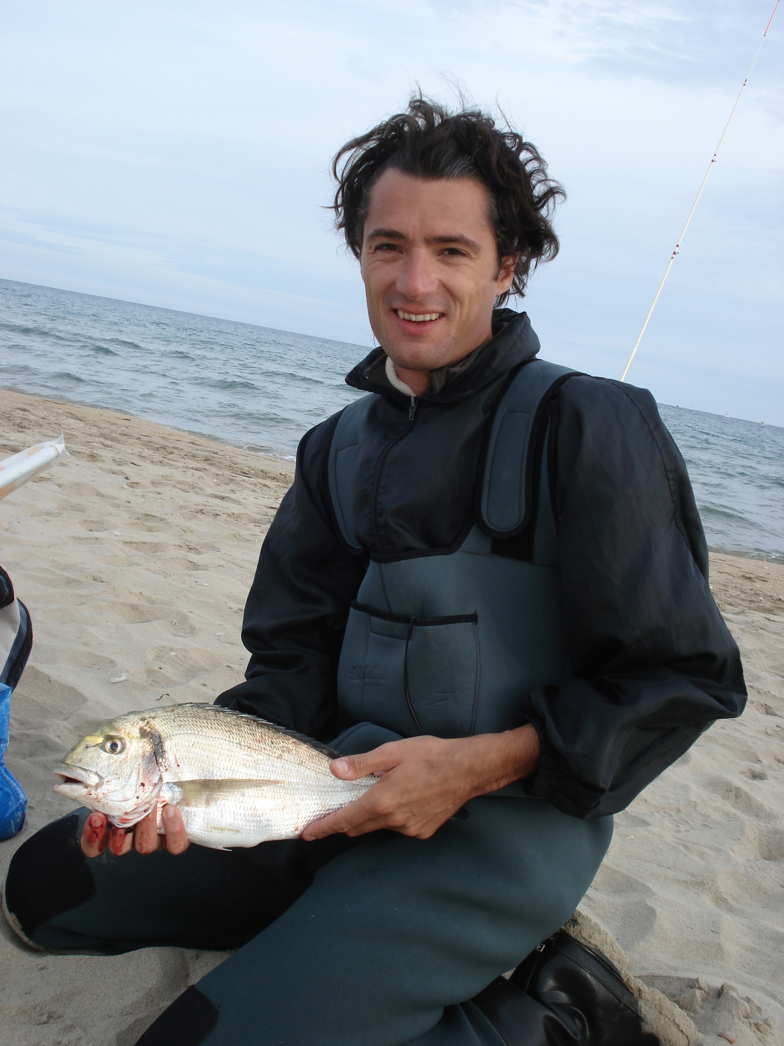 Dorade Royale pêchee a Marseillan