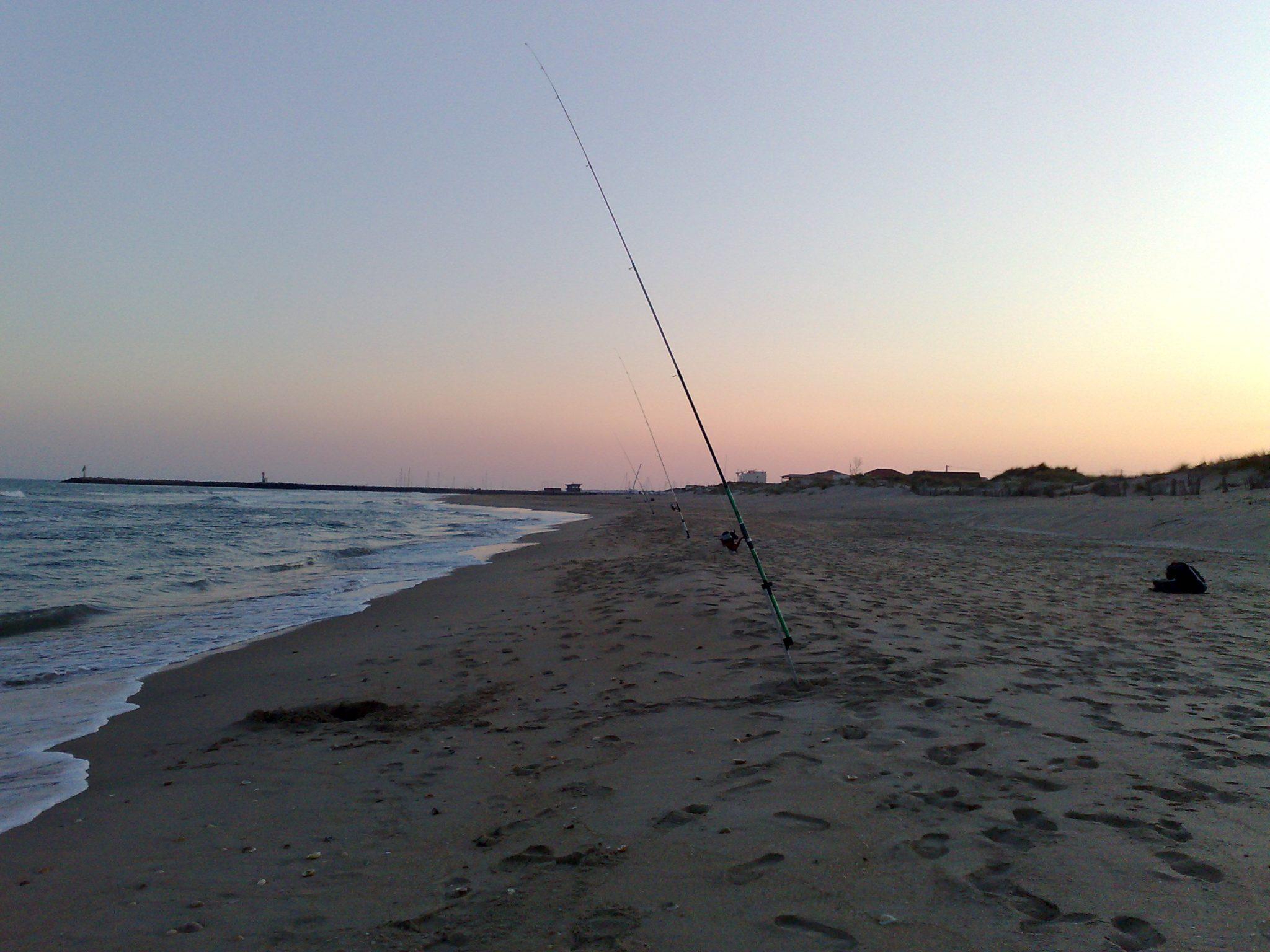 Pêche par vent d'ouest